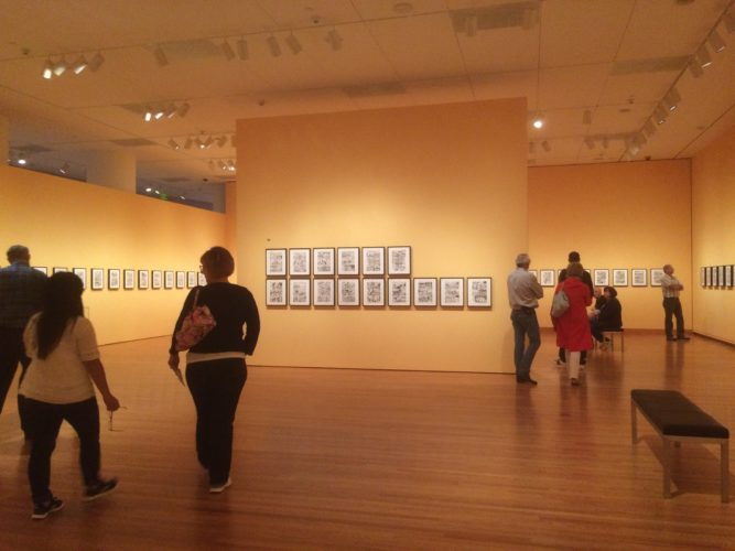 Museum Ramble: Graphic Masters Exhibit at the Seattle Art Museum, 2016